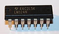 Микросхема LM324N (DIP14)