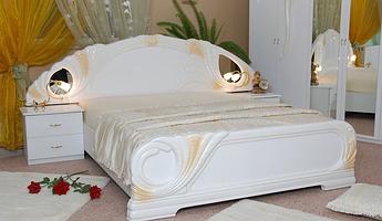 Кровать двуспальная Лола 160 MiroMark