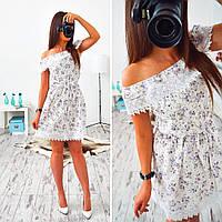 Платье женское 33024 Платье с кружевом