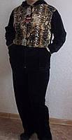 Женский велюровый костюм 8806