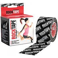 RockTape Кинезио тейп RockTape Designe 5см х 5м (black logo)