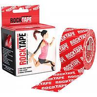 RockTape Кинезио тейп RockTape Designe 5см х 5м (red logo)
