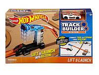 Трек Хот Вилс Пусковая установка с подъемником Track builder Lift and Launch Hot Wheels