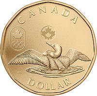 Канада - Canada 2012 г. $1 доллар UNCIRCULATED