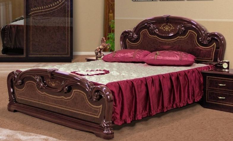 Кровать двуспальная Мартина 140  Миромарк