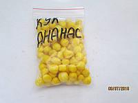 """Воздушное тесто Cukk Puffi """"Ананас"""" крупный (маленькая пачка )"""