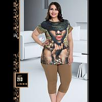 Костюм для дома Lady Lingerie футболка и лосины 213