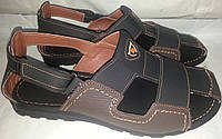 Сандалии мужские кожаные BARZONI 10 кор