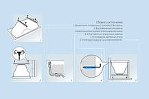 Акриловая ванна ТРИТОН Стандарт 1500x700х560 с ножками, фото 2
