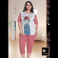 Костюм для дома Lady Lingerie футболка и лосины 207