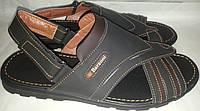 Сандалии-шлепки мужские кожаные BARZONI 11