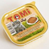 Консервы для кошек, паштет TOMi КРЕВЕТКИ (shrimps), 100гр.