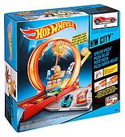 Трек Хот Вилс Скоростная доставка пиццы Speedy Pizza City Hot Wheels