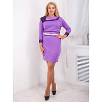 Красивое женское платье Вояж фиолетовое
