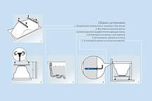 Акриловая ванна ТРИТОН Стандарт 1500x750х560 с ножками, фото 3