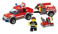 Конструктор Kazi Пожарная техника 8055