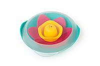 """Плавающий цветок для ванны """"LILI"""" (цвет зеленый+розовый+желтый)"""