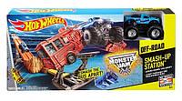 Трек Хот Вилс Авария Бездорожье Monster Jam Off-Road Hot Wheels