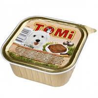Консервы для собак TOMi МЯСО ЯГНЕНОК (veal, lamb), паштет , 150гр.