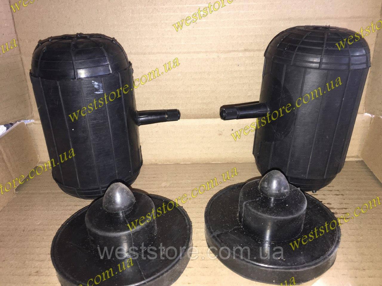 Усилители пружин пневмо,пневмоподушки малые сосок боковой универсальные (d 74, h 120)