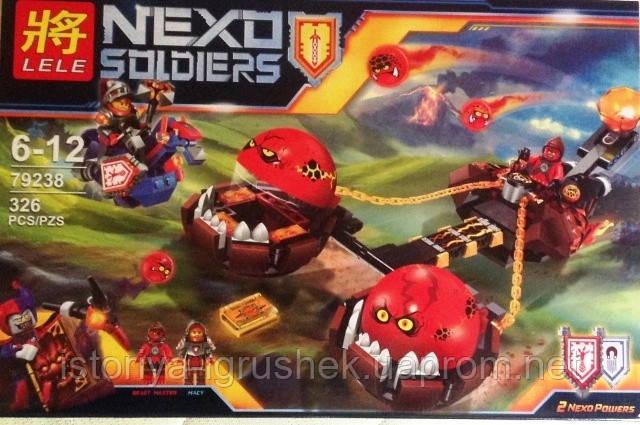 Детский конструктор Nexo Knights Lele 79238