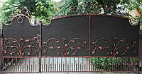 Кованные ворота 10160