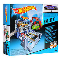 Трек Хот Вилс Гараж-Подъемник (автосервис) Город City Hot Wheels