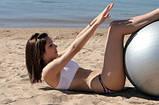 Гімнастичний м'яч для фітнесу - Gymnastic Ball (Фітбол), 75 див., фото 4