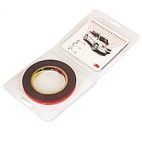 Скотч двосторонній в блістерній упаковці PT1100 3М 1,1 мм 9мм х 5м Клейка Спінена Акрилова Стрічка VHB