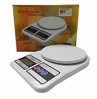 Весы бытовые кухонные SF 400 - 10 кг. Высокая точность. Тарирование. ЖК дисплей., фото 1