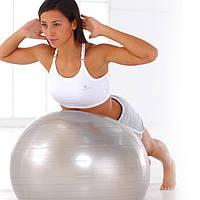 Фітбол - гімнастична куля для фітнесу Gymnastic Ball з насосом