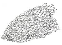 Запасная сетка для подсака 70х70 см