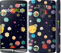 "Чехол на LG G3 D855 Brilliant space ""2784m-47"""