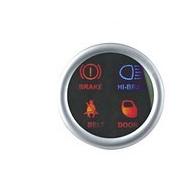 """Дополнительный прибор DGT4402 """"ручной тормоз+ремень+дальний свет+индикатор открытых дверей»."""