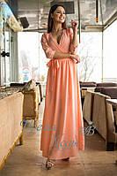 Летнее платье с рукавом три четверти. 4 цвета. Р-ры: S,M,L.