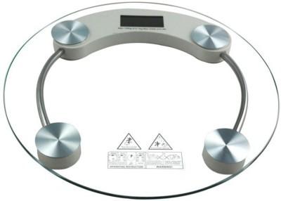 """Весы электронные напольные прозрачное стекло """"Domotec"""" на 180 кг."""