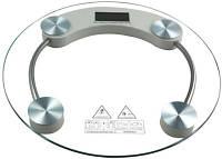 """Весы электронные напольные прозрачное стекло """"Domotec"""" на 180 кг., фото 1"""