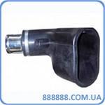Овальная резиновая насадка 2-й выхлоп. трубы шланг 75 мм BGA-75 Filkar