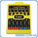 Набор микроотверток, 6 предметов T32151 Ampro