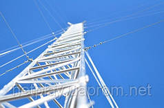 Алюминиевая мачта серии MА440   высота 4 метра