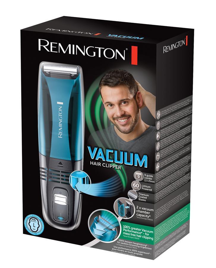 Машинка для стрижки Remington HC6550 с вакуумной технологией (QuickCut Hairclipper)