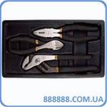 Набор губцевого инструмента в ложементе , 3 предмета T28963 Ampro