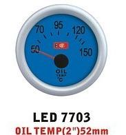 Дополнительный прибор Ket Gauge LED 7703 температура масла. Дополнительный прибор купить., фото 1