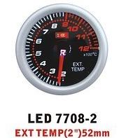 Ket Gauge LED 7708-2 температура выхлопных газов.Дополнительный прибор отзывы.