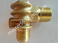 Обратный клапан компрессора 20*20 внутренняя резьба (медный)