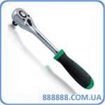 "Трещотка 1/4"" 36 зубцов (резиновая ручка) CJBG0815 TOPTUL"