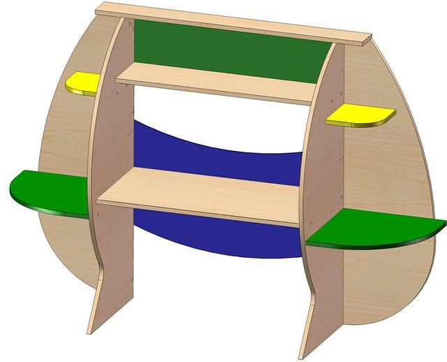 """Детский стол """"Смайл"""""""