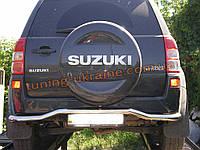 Защита заднего бампера труба с изгибом D60 на  Suzuki Grand Vitara 2006-2015