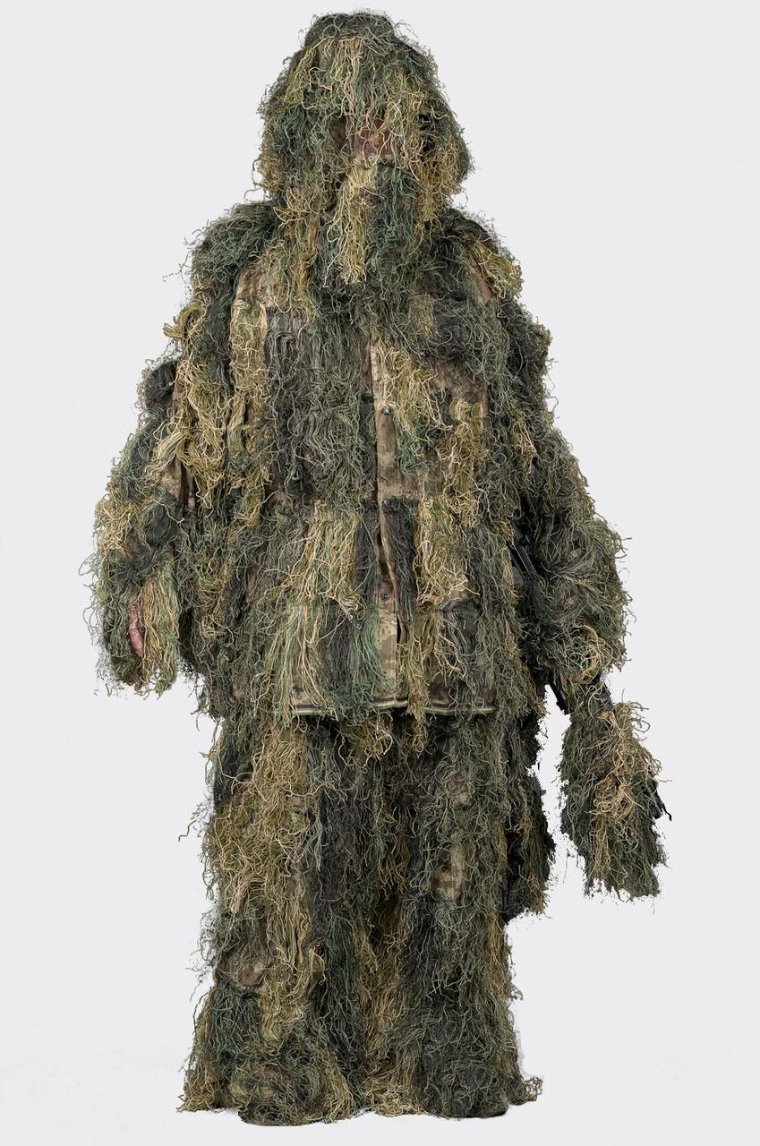 Маскировочный костюм Helikon-Tex® Ghillie Suit - USMC Digital Woodland