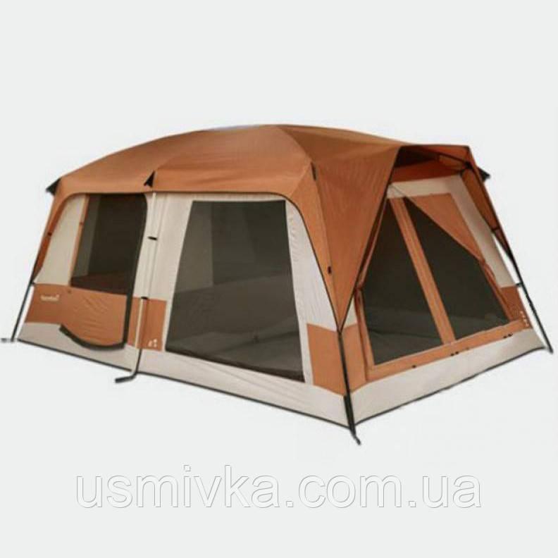 Большая двухслойная просторная 2-х комнатная палатка PL4051610